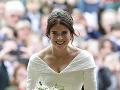 Z princeznej Eugenie bola krásna nevesta.