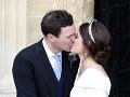 Z princeznej Eugenie je už vydatá pani.