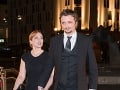 Dano Heriban s manželkou Kamilou