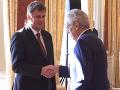 Zeman vymenoval nového ministra zahraničia: Bude ním Tomáš Petříček
