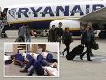 Dohra škandalóznej FOTO s posádkou spiacou na zemi: Ryanair jej to spočítal, má padáka