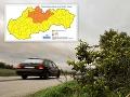 Slovenskom sa prehnal silný vietor: FOTO Domácnosti bez elektriny, kolaps dopravy a popadané stromy