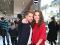 Prišli aj mladé hviezdy seriálu Oteckovia Oliver Osvald a Zuzana Kraváriková.