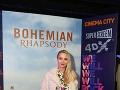Ani Barbora Krajčírová si Bohemian Rhapsody nenechala ujsť.