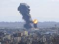 Raketový útok na Izrael