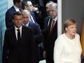 Stretnutie mocných: Erdogan, Putin, Macron a Merkelová vyzvali na politický proces v Sýrii