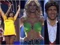Haasová v zradných MINI šatách, sexi Jasmina Alagič len v podprsenke a Loj... Nečakaný PROBLÉM na pódiu!