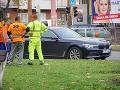 Pri nehode na Záhradníckej ulici sa našťastie nikomu nič nestalo.
