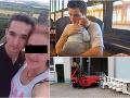 Na Jaroslava (†20) spadol 3-tonový kus kolotoča: FOTO Jeho synček ho bude poznať len z fotiek