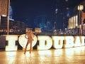 Karin Haydu je Dubajom očarená.