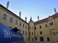 Tragédia na zámku v Hlohovci: Pri inštalácii výťahu zahynul jeden pracovník