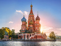 Katedrála sv. Vasiľa Blaženého v Moskve.