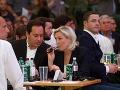 Marie Le Pen na predvolebnom mítingu slobodných