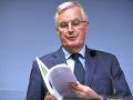 Vyjednávač pre brexit Michel Barnier.