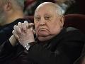 Michail Gorbačov vyzýva: Rusko a USA musia viesť jadrové rozhovory