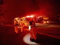 Kaliforniu sužujú lesné požiare