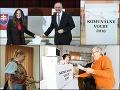 V komunálnych voľbách už odvolili viacerí politici. Priebeh volieb je zatiaľ pokojný.