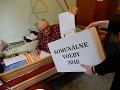 Starší volič odovzdal svoj hlas v Likavke.