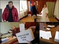 Voliť stihol aj Andrej Danko. Až na menšie incidenty prebiehajú voľby pokojne.