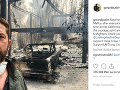 Dom Gerarda Butlera po ničivých požiaroch.
