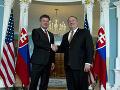 Kritika Washingtonu sa Slovensku vyhla: USA si cenia, že v NATO sme zodpovedným partnerom