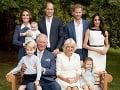 Nové FOTO britskej kráľovskej rodiny: Uvoľnená Meghan a... Najdôležitejší člen chýba!