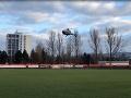 Nebyť vrtuľníka, koncert v Brezne by nestihol.