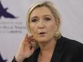 Le Penová v tom má jasno: Za brexit môže EÚ, chce potrestať Veľkú Britániu