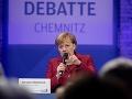 Merkelová navštívila Chemnitz: Jasná výzva pre občanov, držte sa od pravicových extrémistov