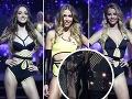 Finalistky Miss Universe SR 2018 predviedli postavičky v plavkách, riaditeľka súťaže skoro spadla z pódia.