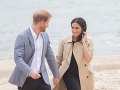 Princ Harry a Meghan Markle žiaria šťastím.