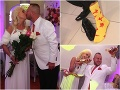 Martin Jakubec s Božanka si svoj svadobný žúr naozaj užili.