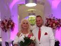 Martin Jakubec a Božanka sú čerství novomanželia.