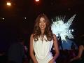 Módnou šou sprevádzala divákov krásna Jasmina Alagič.
