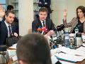 Zasadnutie Zahraničného výboru Národnej rady SR