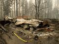 Lesné požiare v Kalifornii si vyžiadali už desiatky obetí. Ich počet však môže stále stúpať.