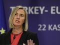 Napätie v Azovskom mori poškodzuje ekonomické záujmy EÚ, odkazuje šéfka diplomacie