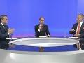 Búrlivá televízna debata: Ťaháš ma na dno, naložil Danko Kollárovi! Drsná odpoveď