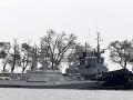 Zajaté ukrajinské lode
