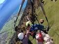 VIDEO Mladík si chcel zalietať na rogale, aby sa pokochal prírodou: Inštruktor ho nepripol na lano!