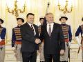 Prezident Andrej Kiska prijal nového českého veľvyslanca Tomáša Tuhého