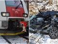 Anjeli strážni zasiahli pri Bardejove! FOTO V tomto vraku prežil po hrôzostrašnej nehode s vlakom
