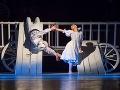 Eva Sklyarova a Marek Šarišský v novej tanečnej inscenácii Štátneho divadla Košice Rodná zem