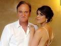 Quentin Tarantino bude otcom: Dieťa mu porodí izraelská modelka!