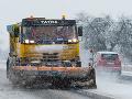 Na horskom priechode Zbojská je zľadovatený sneh: V niektorých regiónoch platí výstraha
