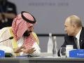 VIDEO Šok na summite G20: FOTO Takéto zvítanie Putina so saudskoarabským princom nikto nečakal