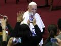 Pápež František: V našich spoločenstvách sa zdá, že je homosexualita v móde