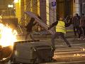 Francúzsko je na nohách: Nepokoje nemajú konca, na obzore je aj vyhlásenie výnimočného stavu