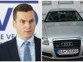 Hlivák daroval svoje služobné Audi.