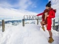 Erika Barkolová síce zimnému obdobiu príliš nefandí, no s fotením v snehu nemala najmenší problém.